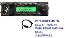 CRT SS 9900 V4 Ham Radio CB CTCSS DCS Superstar anytone 6666 10 11 12m PLUS CABE