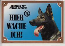 Nobby Warntafel deutscher Schäferhund
