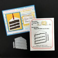 Birthday dies Piece of Cake Frantic Stamper metal cutting die set with candle