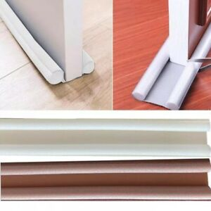 1Pcs Door Seal Strip Weather Stripping Self Adhesive Sweep Bottom Stopper 95cm