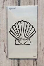 *UK SELLER* Small Shell TEMPORARY TATTOOWaterproof Body Art /-a650-/