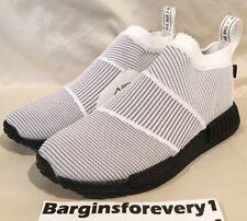 "New Men's Adidas NMD_CS1 GTX PK ""Gore-Tex"" - Size 10.5 - White/Black - BY9404"