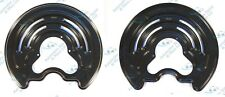 Renault Trafic Vauxhall Vivaro 2x Rear Brake Disc Dust Cover Back Plate Shields