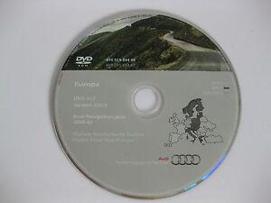 Audi RNS-E NAVIGATION PLUS SATNAV DVD 2013 a3 a4 a6 dvd1 West Germany UK France
