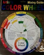 """Color Wheel Diameter 9-1/4"""" (23.5 cm) Candle Color Mixing Guide, Artist, Paint"""