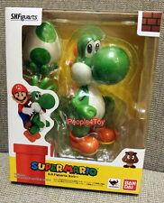 Bandai S.H. Figuarts Super Mario Bros YOSHI Action Figure wii Nintendo 3ds