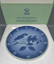 Royal Copenhagen Porcelain Sven Vestergaard Mother Robin with Babies Plate 5105