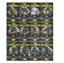 2012 NRL SELECT DYNASTY COWBOYS SILVER PARALLEL TEAM SET 12 CARDS