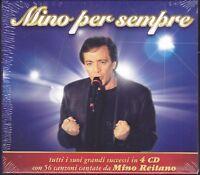 4 CD Box Set Cofanetto MINO REITANO PER SEMPRE- IL MEGLIO BEST SUCCESSI nuovo