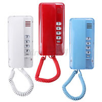 Desktop Telephone Corded Phone Wall Mount Home Hotel Office Phones Reception