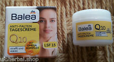 Balea Anti-wrinkle Day Cream Q10 - 50 Ml.with SPF 15