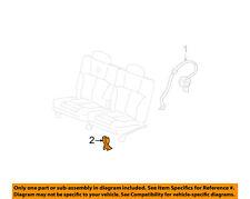 GM OEM Rear Seat Belts-Buckle End 88957503