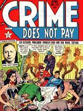 Comics los delitos acaban pagándose disparar pistola asesinato EE. UU. impresión de Bellas Artes cartel ABB6410B