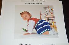Minnowknits Knitting Pattern 143 Beau Jest Unisex Jumper 3m to 3yrs