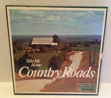 """Take Me Home Country Roads Set of 7-12"""" Records RCA 1973 Good Condition"""