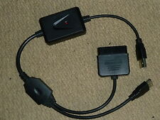SONY PLAYSTATION 2 PS2 to PS3 CONTROLLER ADAPTER PS2 to PS3 USB PC CONVERTER NEW