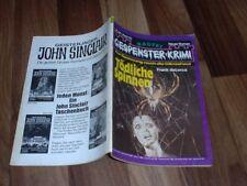 GESPENSTER KRIMI # 441 -- Tödliche Spinnen // von Frank deLorca 1981