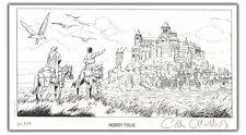 Ex-libris CHAILLET Vasco 120ex num signé 14x25 cm