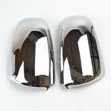 Set of New Chrome MIrror Covers Pair Left and Right for Audi A4 A3 2003 - 2008