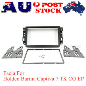 Car Radio Fascia DVD 2 DIN Dash Panel Facia For Holden Barina Captiva 7 TK CG EP