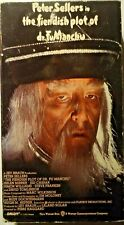 Peter Sellers in The Fiendish Plot of Dr FuManchu 1980 Vhs Vintage Video