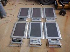 LOT of SIX Intercomp MH600 Portable scales w/case & accessories