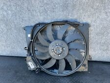 ✔MERCEDES W219 W211 E55 E63 CLS63 CLS55 CLS550 RADIATOR COOLING FAN ASSEMBLY OEM