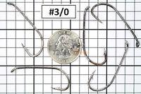 100x #3/0 Baitholder Fishing Hooks Offset Strong Chemically Sharpened Jig USA!