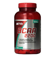 BCAA 2200 Amino Acid Supplement Supports Muscle Recovery 180 Softgels