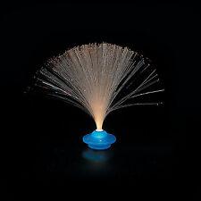 Kids Mini Blue UFO Lamp Multi Color Fiber Optic Light (2 sets)