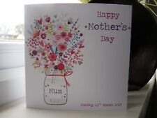 Handmade Personalised Mum Mother's Mothers Day Card (Also suitable for Birthday)