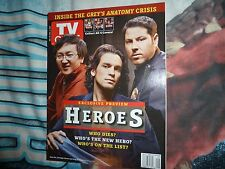 TV GUIDE (USA). HEROES COVER. JAN 2007. RARE.