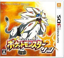 NEW Nintendo 3DS Pokemon Sun w/ BONUS Promo Card Multi Language English JAPAN FS
