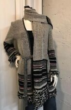 MISSONI Knit Cardigan And Scarf Set Wool Mohair Sz 42 US 8 Orig $900