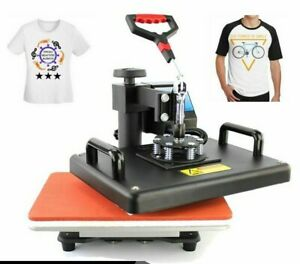 T-Shirt Heat Press Machine Transfer Printer Thermal Paper Consumable Types 1350W
