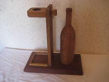 Support en bois pour bouteille de vin