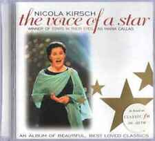 Nicola Kirsch ‎– The Voice Of A Star - CD Album (2000)