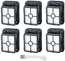 6 Pack Filter Set For Bissell CrossWave Cordless Wet Dry Vac 2551, 25519 Vacuum