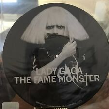 The Fame Monster [Picture Vinyl] [LP] by Lady Gaga (Vinyl, Dec-2009, Interscope