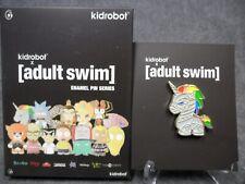 Kidrobot Adult Swim NEW * Robot Unicorn Attack * Game Enamel Pin Blind Box