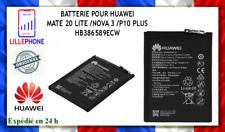 BATTERIE POUR HUAWEI MATE 20 LITE /NOVA 3 /P10 PLUS HB386589ECW ORIGINAL NEUF FR