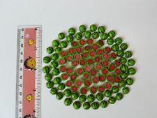 Mini Lot 50 Half  Watermelon Dollhouse Miniatures Food Deco Fruit Clay 1:10