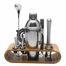 Stainless Steel Liquor Red Wine Cocktail Shaker Bar Wine Mixer Set with Holder