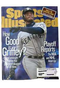 May 17, 1999 Ken Griffey Jr. Final Year Seattle Mariners SPORTS ILLUSTRATED