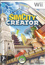 SIMCITY CREATOR for Nintendo Wii - with box & manual - PAL
