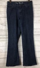 Women's L.L. Bean Favorite Jean Boot Cut Jeans 5 Pocket Size 10 Reg