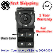 Holden Master Power Window Switch Commodore VE Series 2006-2003 Red Illumination