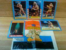 Hulk Hogan 1987 Topps Wrestling Cards & Wrappers