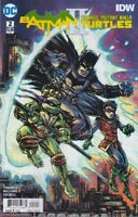 BATMAN TEENAGE MUTANT NINJA TURTLES II #2 VARIANT EDITION COVER B