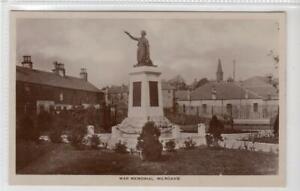 WAR MEMORIAL, MILNGAVIE: Dunbartonshire postcard (C61647)